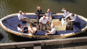 Outside the Aalsmeer office
