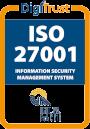 DigiTrust ISO27001 Certification Seal